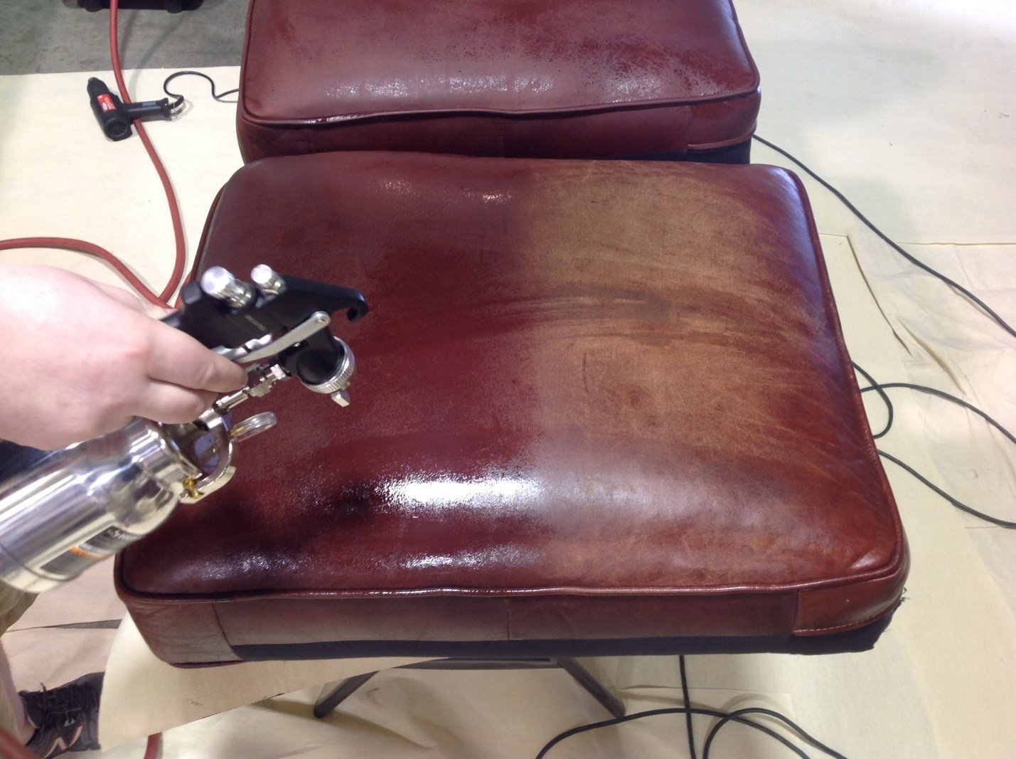 Leather Restoration - Furniture Pros